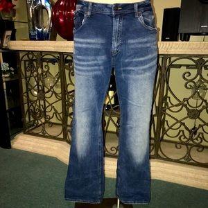 BUFFAO men's straight fit jeans 40x32